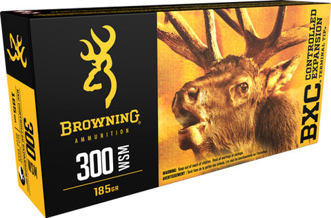 Browning Ammo Bxc .300Wsm 185gr. Bxc 20-Pack