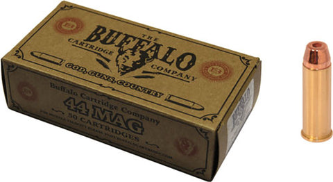 Buffalo Cartridge Ammo 44 Mag 240 gr.HP 50-Pack