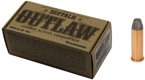 Buffalo Cartr Ammo .38 Special Cowboy Action 125gr. LFP 50-Pack