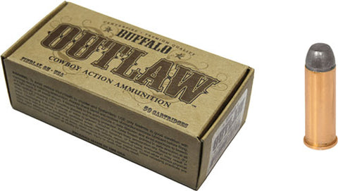 Buffalo Cartr Ammo 44 Mag Cowboy Action 200gr. LRNFP 50P
