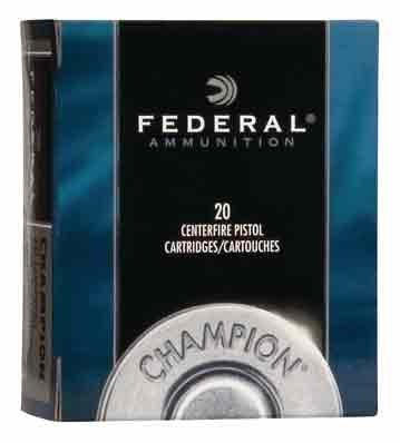 Federal Ammo .32Hrm 95gr. Lead-Swc 20-Pack