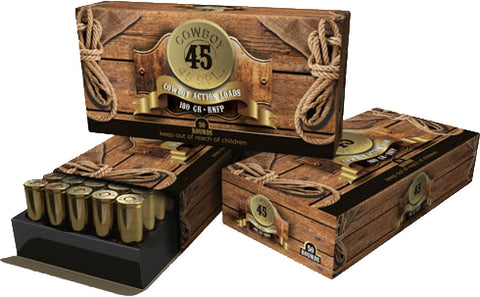 American Cowboy .45 Special 180Gr. Lead Flat-Nose 50-Pack Aca45Spl