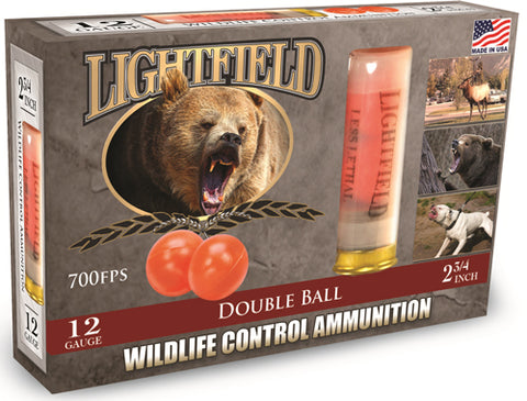 "Lightfield 12Ga 2-3/4"" Double Ball 5-Pack"