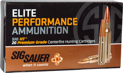 SIG Ammo .300 Black-Out 220gr. Elite Hunting V-Crown 20-Pack