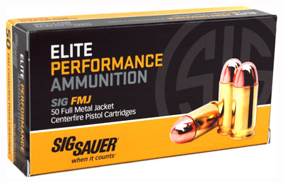 SIG Ammo .45 ACP 230gr. FMJ 50-Pack