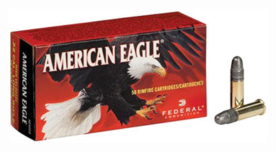 Federal Ammo .22LR 1240fps. 40gr. Solid Point 50Pack