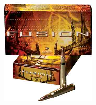 Federal Ammo Fusion .22-250 Rem 55gr. Fusion 20-Pack