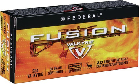 Fed Ammo Fusion .224 Valkyrie