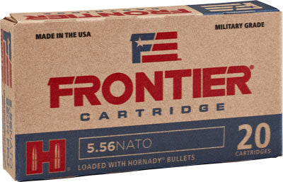 Frontier Ammo 5.56 Nato 62Gr. Spire Point 20-Pack Fr280