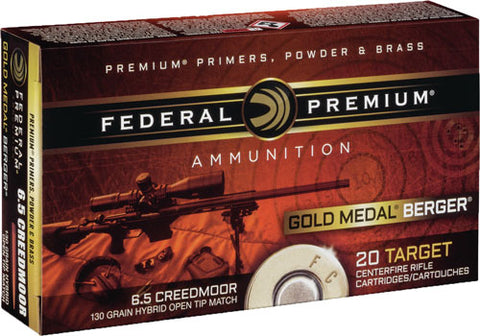Fed Ammo Gm 6.5 Creedmoor