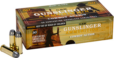 Gbw Ammo Cowboy Action .45 Long Colt 250Gr RNFP 50-Pack