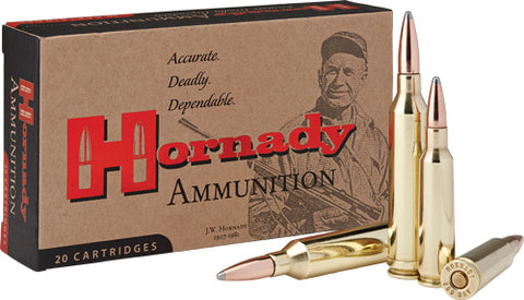 Hornady Ammo .250 Savage 100gr. Interlock 20-Pack