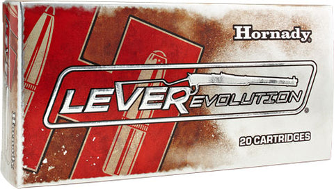 Hornady Ammo Leverevolution 7-30 Waters 120Gr Ftx 20-Pack 81569