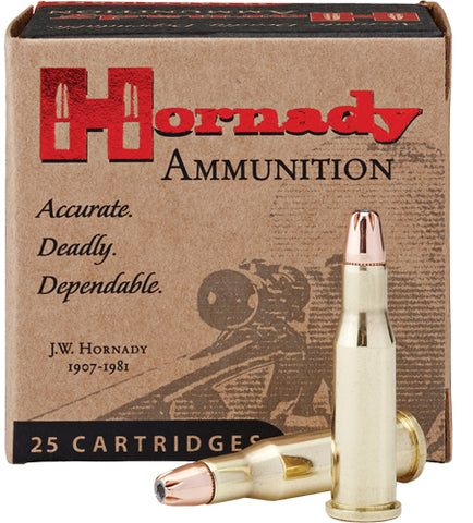 Hornady Ammo .218 Bee 45gr. HP 25-Pack