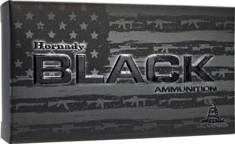 Hornady Ammo Black 6.8mm Spc 110gr. V-Max 20-Pack