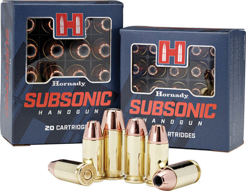 Hornady Ammo .45Acp 230Gr.  . Jhp/Xtp Subsonic 20-Pack 90971