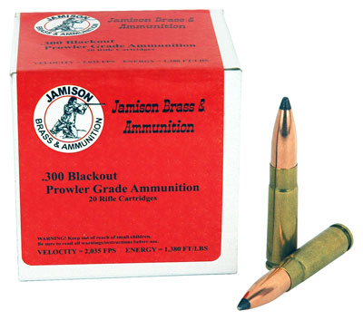 Jamison Ammo .300 Aac Blackout Sierra 125gr. HP 20-Pack