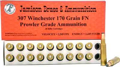 Jamison Ammo .307 Winchester 170gr. JFP 20-Pack