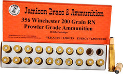 Jamison Ammo .356 Winchester 200Gr RNFP 20-Pack