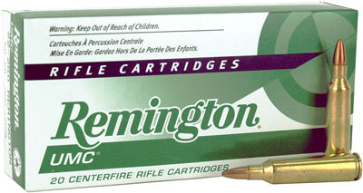 Remington Ammo Umc .22-250 50gr. HP 20-Pack