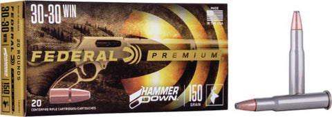 Fed Ammo Hammer Down .30-30 150Gr. Sp 20-Pack Lg30301