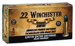 Aguila .22 Winchester Auto 45gr. LRNEley Primed 50-Pack