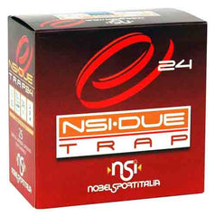 "Nobelsport Ammo Due Trap 12Ga. 2.75"" 1319fps. 24 Gram #8 25Pack"