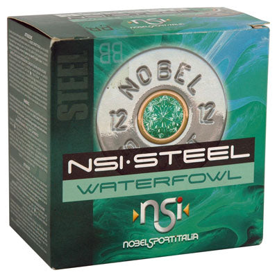 "Nsi Steel Waterfowl 12 Ga 3"" 1450 fps. 1-1/4oz BB 25-Pack"
