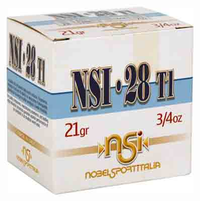 "Nobelsport 28Ga 2.75"" 1300fps. 3/4 oz. #7 1/2 25-Pack"