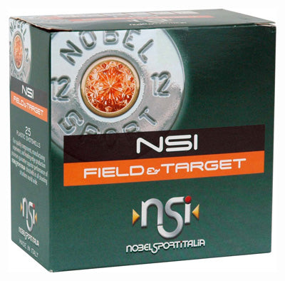 "Nobelsport Ammo 12Ga. 2.75"" 1255fps. 1-1/8 oz. #6 25-Pack"