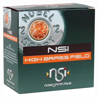 "Nobelsport Ammo 12Ga. 2.75"" 1330fps. 1-1/4oz. #7.5 25-Pack"