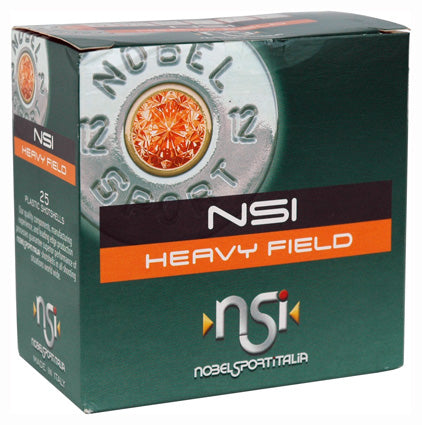 "Nobelsport Ammo 12Ga. 2.75"" 1220fps. 1-1/4oz. #8 25-Pack"