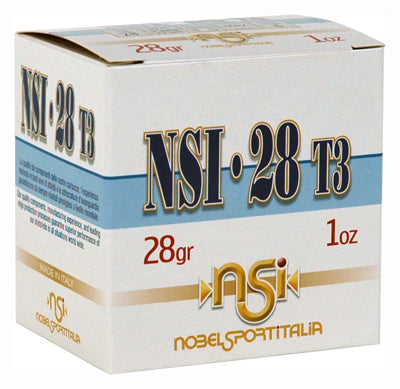 "Nobelsport Ammo 28Ga 2-3/4"" Max 1oz #8 25 Pack"