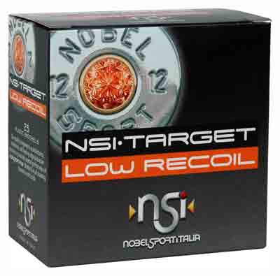 Nobelsport Ammo Low Recoil 12Ga. 1200fps. 1oz. #9 25-Pack