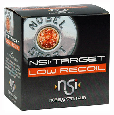 Nobelsport Ammo Low Recoil 20Ga. 1200fps. 3/4oz. #8 25-Pack