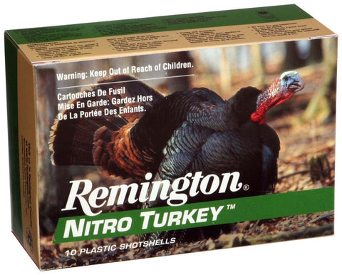 "Remington Ammo Nitro-Turkey 10-Pack 12Ga. 3.5"" 1300fps. 2oz. #5"