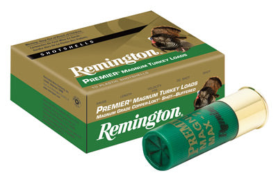 "Remington Ammo Premier Turkey 10-Pack 10Ga. 3.5"" 1210fps 2-1/4oz. #4"