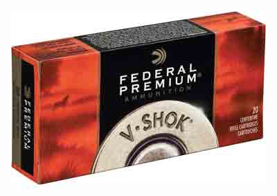 Federal Ammo Premium .22 Hornet 30gr. TNT Green 50-Pack