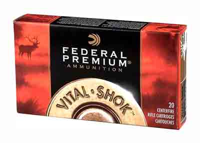 Federal Ammo Premium .243 Win. 100gr. Nosler Part. Moly 20-Pack