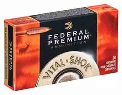 Federal Ammo Premium .270Wsm 130gr. Trophy Copper 20-Pack