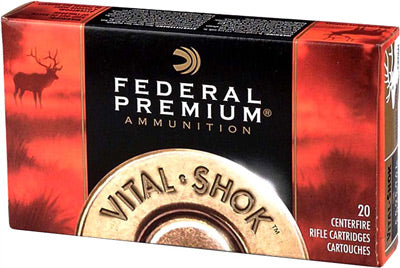 Federal Ammo .338 Win Mag 250gr. Nosler Partition