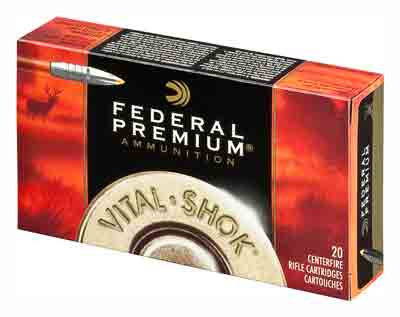 Federal Ammo Premium 7mm Wsm 160gr. Trophy Bonded Tip 20-Pack