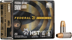 (So) Fed Ammo Premium 9Mm