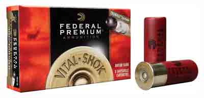 "Federal Ammo Premium Truball Slug 12Ga 2.75"" 1600fps. 1oz. 5Pack"