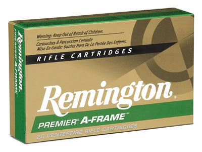 Remington Ammo .375 Rem Ultra Mag 300Gr Swift A-Frame 20-Pack !