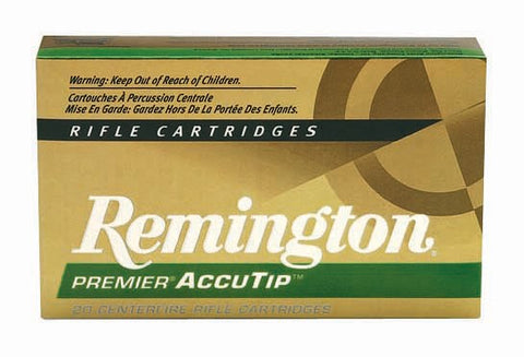 Remington Ammo Premier .222 Rem 50gr. Accu-Tip Bt 20-Pack