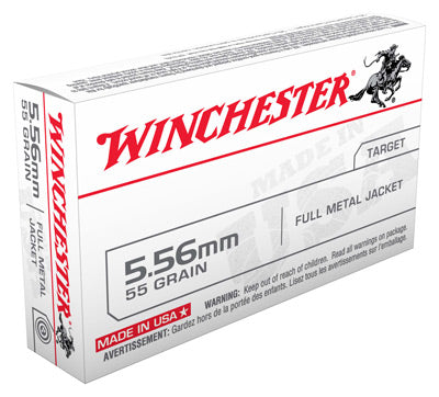 Winchester Ammo Usa 5.56X45/223 Rem. 55gr. FMJ 20-Pack