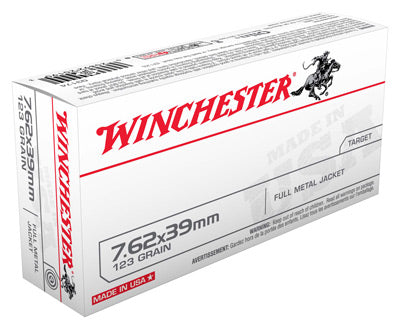 Winchester Ammo Usa 7.62X39 123gr. FMJ 20-Pack