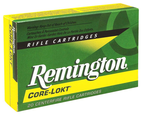 Remington Ammo .270Wsm 130gr. Psp Core-Lokt 20-Pack