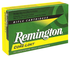 Remington Ammo .308 Win. 150gr. Psp Core-Lokt 20-Pack